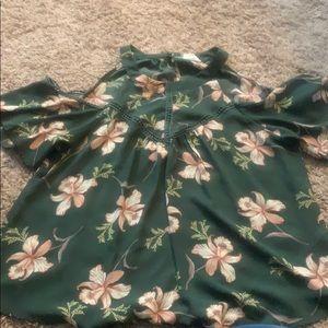 Sienna Sky cold shoulder blouse